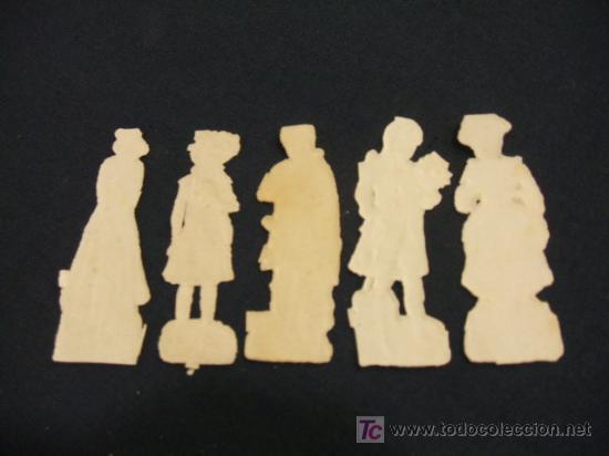 Coleccionismo Cromos troquelados antiguos: LOTE 5 CROMOS TROQUELADOS ANTIGUOS - - Foto 2 - 27040298