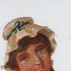 Coleccionismo Cromos troquelados antiguos: ANTIGUO CROMO TROQUELADO.- PERSONAJE.- MED. 10 CM. X 4 CM. Lote 18963619