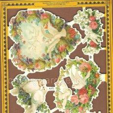 Coleccionismo Cromos troquelados antiguos: CROMOS TROQUELADOS REPRODUCED FROM LOS ARCHIVOS COLECCIÓN MAMELOK PRESS LTD 2000 A170. EL AMOR. Lote 24844749