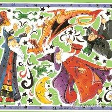 Coleccionismo Cromos troquelados antiguos: CROMOS TROQUELADOS SERIE MLP, DE PICAR. F3016. MAGIA CON REFLEJOS Y BRILLOS DORADOS.. Lote 34618656