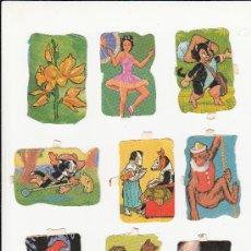 Coleccionismo Cromos troquelados antiguos: ANTIGUOS CROMOS TROQUELADOS LOTE 7. Lote 26521642