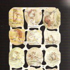Coleccionismo Cromos troquelados antiguos: CROMOS DE PICAR MARCA MLP. Lote 27656084
