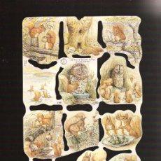Coleccionismo Cromos troquelados antiguos: CROMOS DE PICAR MARCA MLP. Lote 27656144