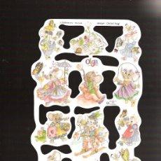 Coleccionismo Cromos troquelados antiguos: CROMOS DE PICAR MARCA MLP. Lote 27656180