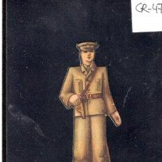 Coleccionismo Cromos troquelados antiguos: CROMO TROQUELADO GUERRA CIVIL ALMACENES ALEMANES - ALFEREZ -EJERCITO POPULAR - ( CR-47). Lote 28161969