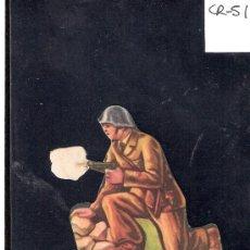 Coleccionismo Cromos troquelados antiguos: CROMO TROQUELADO GUERRA CIVIL ALMACENES ALEMANES - TENIENTE -EJERCITO POPULAR - ( CR-51). Lote 28162033
