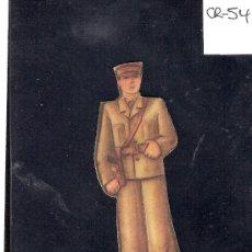 Coleccionismo Cromos troquelados antiguos: CROMO TROQUELADO GUERRA CIVIL ALMACENES ALEMANES - TENIENTE -EJERCITO POPULAR - ( CR-54). Lote 28162081