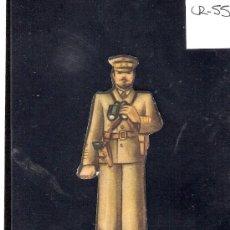 Coleccionismo Cromos troquelados antiguos: CROMO TROQUELADO GUERRA CIVIL ALMACENES ALEMANES - CORONEL -EJERCITO POPULAR - ( CR-55). Lote 28162095