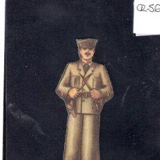Coleccionismo Cromos troquelados antiguos: CROMO TROQUELADO GUERRA CIVIL ALMACENES ALEMANES - COMANDANTE -EJERCITO POPULAR - ( CR-56). Lote 28162109