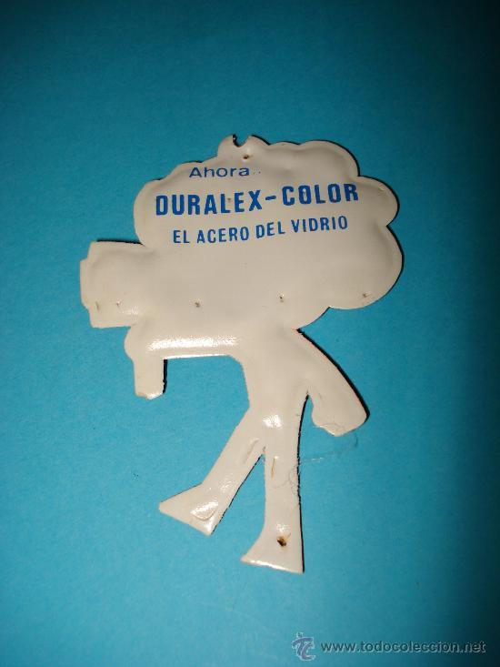 Coleccionismo Cromos troquelados antiguos: Cromo de Plastico Almohadillado Troquelado Premium DURALEX . Año 1960s. - Foto 2 - 28453577