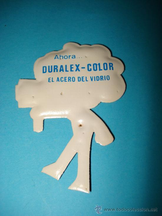 Coleccionismo Cromos troquelados antiguos: Cromo de Plastico Almohadillado Troquelado CROMOPLAST Premium DURALEX . Año 1960s. - Foto 2 - 28461230