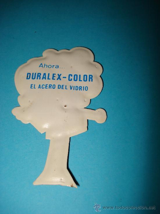 Coleccionismo Cromos troquelados antiguos: Cromo de Plastico Almohadillado Troquelado CROMOPLAST Premium DURALEX . Año 1960s. - Foto 2 - 28461239