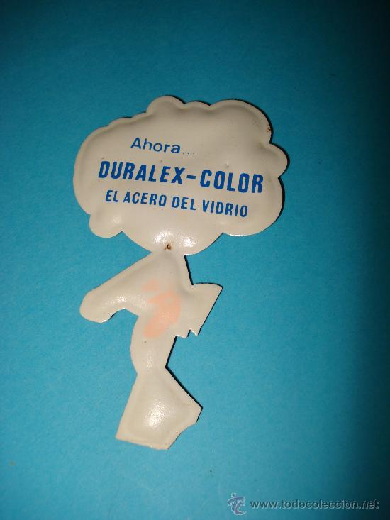 Coleccionismo Cromos troquelados antiguos: Cromo de Plastico Almohadillado Troquelado CROMOPLAST Premium DURALEX . Año 1960s. - Foto 2 - 28461244