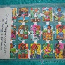 Coleccionismo Cromos troquelados antiguos: CROMOS TROQUELADOS MAVEL. Lote 29160300