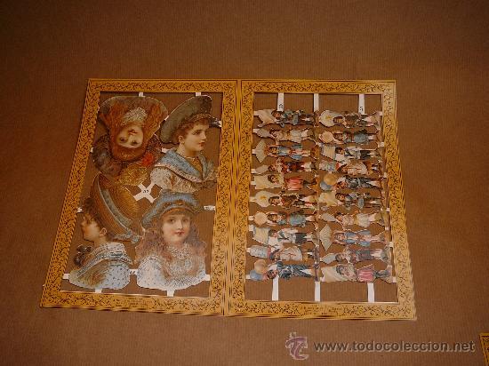 Coleccionismo Cromos troquelados antiguos: Cromos victorianos - Foto 2 - 29665764