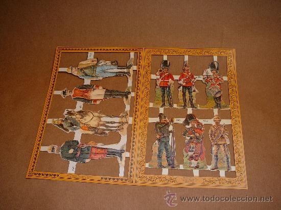 Coleccionismo Cromos troquelados antiguos: Cromos victorianos - Foto 3 - 29665764
