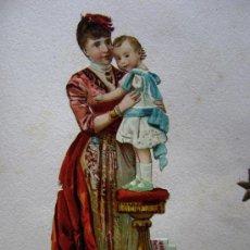 Coleccionismo Cromos troquelados antiguos: ALBUM CON 1056 CROMOS TROQUELADOS DEL AÑO 1897. Lote 30727490