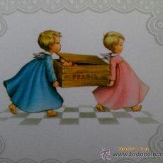 Coleccionismo Cromos troquelados antiguos: FELICITACION INFANTIL TROQUELADA, - LOTE DE SEIS. Lote 31026089