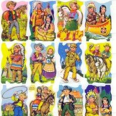Coleccionismo Cromos troquelados antiguos: LAMINA DE CROMOS TROQUELADOS MLP 1431 CON BRILLO Y RELIEVE. Lote 167674989