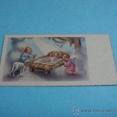 Coleccionismo Cromos troquelados antiguos: PRECIOSO CROMO INFANTIL EDITOR CYZ Nº 577/A . NACIMIENTO DE JESUS. IMPRESO EN ESPAÑA. Lote 34275950