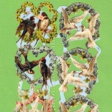 Coleccionismo Cromos troquelados antiguos: CROMOS TROQUELADOS O RECORTADOS DE LA SERIE INGLESA MLP, DE LA PALMA O PICAR. 1757. Lote 103948212