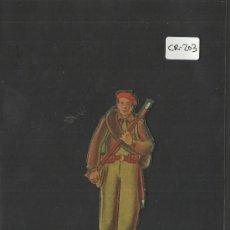 Coleccionismo Cromos troquelados antiguos: CROMO TROQUELADO GUERRA CIVIL ALMACENES ALEMANES - REQUETE -EJERCITO NACIONAL - ( CR-203). Lote 36682075