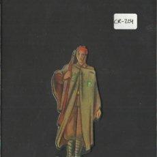 Coleccionismo Cromos troquelados antiguos: CROMO TROQUELADO GUERRA CIVIL ALMACENES ALEMANES - REGULAR MARROQUI -EJERCITO NACIONAL - ( CR-204). Lote 36682123