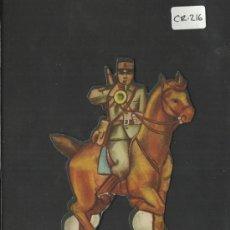 Coleccionismo Cromos troquelados antiguos: CROMO TROQUELADO GUERRA CIVIL ALMACENES ALEMANES - CORNETA -EJERCITO POPULAR - ( CR-216). Lote 36682625
