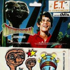 Coleccionismo Cromos troquelados antiguos: E.T. EL EXTRATERRESTRE CROMOS TROQUELADOS 1982 JUEGOS ODÍN ADHESIVOS TRIDIMENSIONALES. Lote 54103952