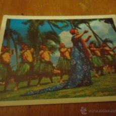 Collectionnisme Cartes à collectionner massicotées anciennes: ANTIGUO CROMO CARTON VIAJE A LAS ISLAS HAWAII OCEANO PACIFICO. Lote 40631202