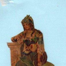 Coleccionismo Cromos troquelados antiguos: CROMO TROQUELADO. SIGLO XIX.. Lote 45128568