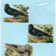 Coleccionismo Cromos troquelados antiguos: CROMO TROQUELADO. SIGLO XIX. Lote 45144332