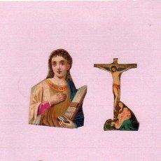 Coleccionismo Cromos troquelados antiguos: CROMO TROQUELADO. SIGLO XIX. Lote 45144467