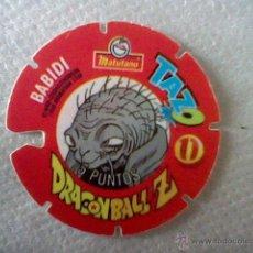 Colecionismo Cromos recortados antigos: CROMO TAZO TROQUELADO MATUTANO DRAGON BALL Z Nº 11 1989 BABIDI . Lote 45407043