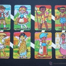 Coleccionismo Cromos troquelados antiguos: LAMINA CROMOS TROQUELADOS GRANDES MAVES REGIONALES MEJOR PRECIO. Lote 100384660