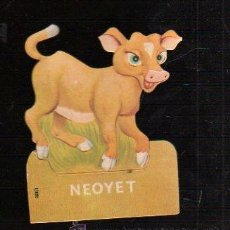 Coleccionismo Cromos troquelados antiguos: PUBLICIDAD DE FARMACIA TROQUELADA. NEOYET.. Lote 47186390