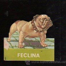 Coleccionismo Cromos troquelados antiguos: PUBLICIDAD DE FARMACIA TROQUELADA. FECLINA. CLORANFENICOL Y TETRACICLINA.. Lote 47186415