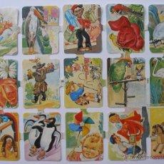 Coleccionismo Cromos troquelados antiguos: LÁMINA CROMOS ( BRILLO Y RELIEVE ) SIMA Nº 6 , ORIGINAL AÑOS 60 - 70. Lote 178803865