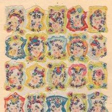 Coleccionismo Cromos troquelados antiguos: ANTIGUA LÁMINA DE CROMOS ESTRELLITAS Nº 44 ARGENTINA DEL AÑO 1973. Lote 49375316