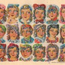 Coleccionismo Cromos troquelados antiguos: ANTIGUA LÁMINA DE CROMOS ESTRELLITAS Nº 43 ARGENTINA DEL AÑO 1973. Lote 49375348