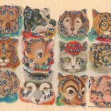 Coleccionismo Cromos troquelados antiguos: ANTIGUA LÁMINA DE CROMOS ESTRELLITAS Nº 34 ARGENTINA DEL AÑO 1973. Lote 111683920
