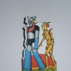 Coleccionismo Cromos troquelados antiguos: CROMO TROQUELADO DE LA SERIE MAZINGER Z , NUMERO 35 AFRODITA A CON MAZINGER Z - ORIGINAL DE PANRICO. Lote 53322819