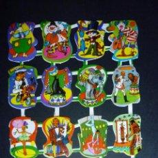 Coleccionismo Cromos troquelados antiguos: LÁMINA CROMOS TROQUELADOS PEQUEÑOS MAVES LOROÑO AÑOS 70/80 ANTIGUOS AUTENTICOS MEJOR PRECIO. Lote 62761322