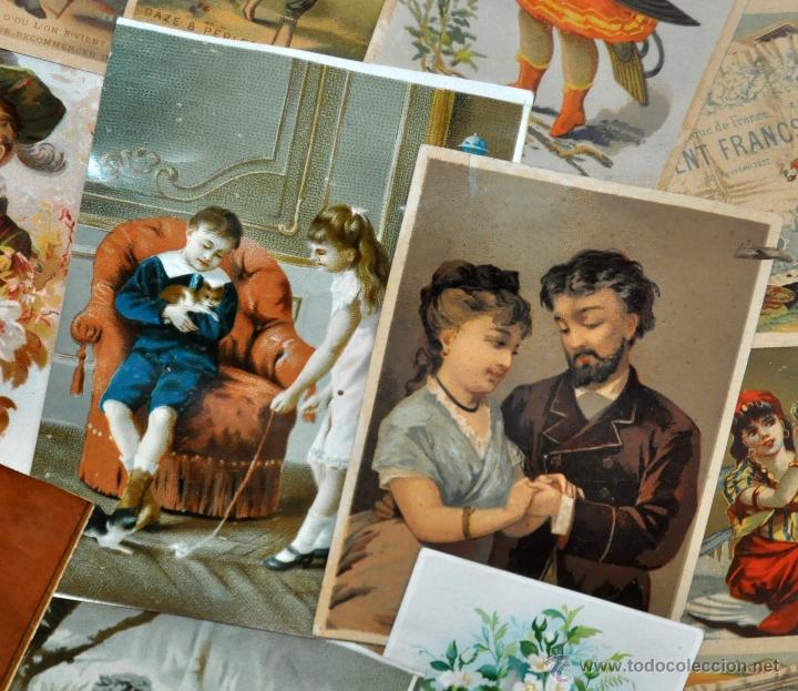 Coleccionismo Cromos troquelados antiguos: CUADRO CON COMPOSICIÓN DE CROMOS PUBLICITARIOS DE PRINCIPIOS DEL SIGLO XX - Foto 4 - 53676953
