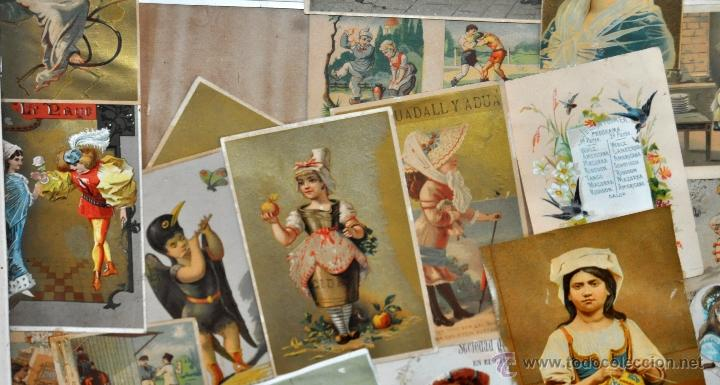Coleccionismo Cromos troquelados antiguos: CUADRO CON COMPOSICIÓN DE CROMOS PUBLICITARIOS DE PRINCIPIOS DEL SIGLO XX - Foto 11 - 53676953