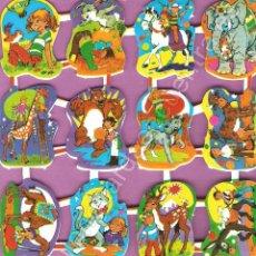 Coleccionismo Cromos troquelados antiguos: CROMOS ESPAÑOLES LOROÑO AUTÉNTICOS SE DISTINGUEN BIEN PORQUE TIENEN RELIEVE NIÑOS ANIMALES. Lote 54617516
