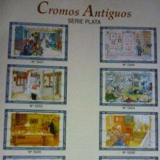 Coleccionismo Cromos troquelados antiguos: 8 LÁMINAS CROMOS TROQUELADOS MLP SERIE PLATA COLECCION COMPLETA A PRECIO INMEJORABLE. Lote 119634932