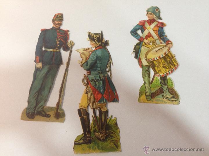 LOTE DE 3 CROMOS TROQUELADOS. CHOCOLATE AMATLLER BARCELONA. 11CM (Coleccionismo - Cromos y Álbumes - Cromos Troquelados)