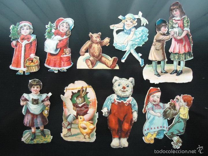 CROMO TROQUELADO INFANTIL JUEGO CHICAS NIÑAS LITERATURA INFANCIA MUNDO  MAGICO HADAS JUGUETES (Coleccionismo - Cromos 75bd7b9baaa