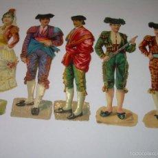 Coleccionismo Cromos troquelados antiguos: ANTIGUOS CROMOS TROQUELADOS.....FINALES SIGLO XIX...PRINCIPIOS XX.. Lote 58731658